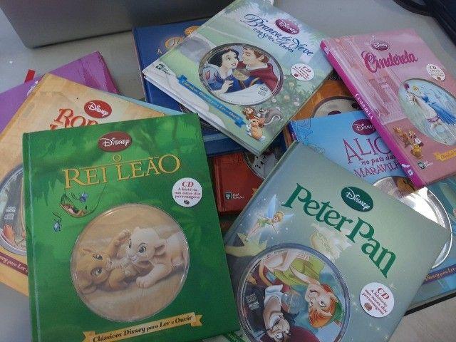 livros Disney com cd - Foto 2