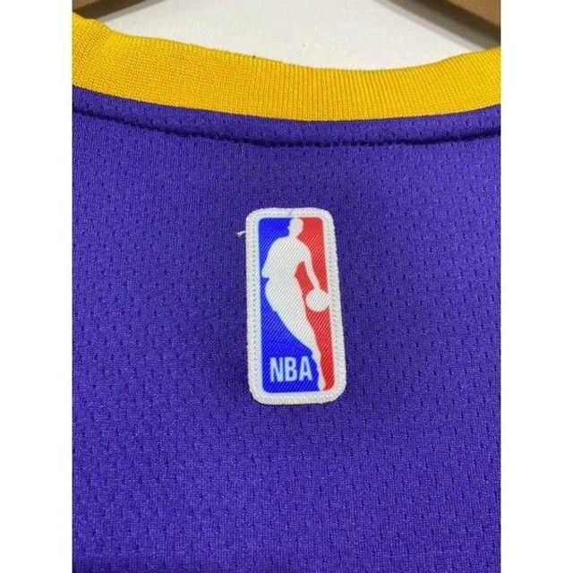 Camisa NBA Lakers bordada - Foto 5