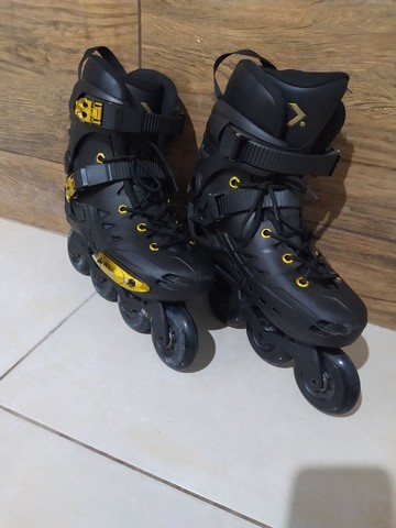 Patins Oxer Darkness Gold  - Foto 3