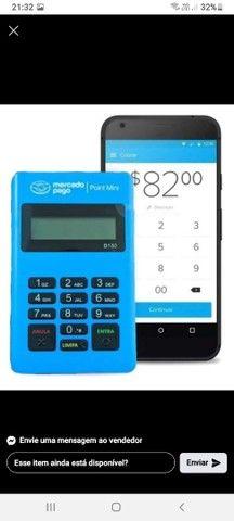 Maquininha Mercadopago POINT ME 30s Blue Nova via Bluetooth - Foto 4