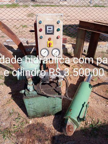 Unidade hidráulica e cilindro - Foto 2