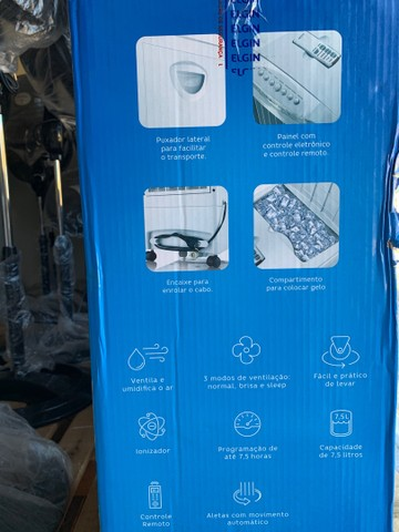 Climatizador de Ar Elgin 220v 7,5 Litros Branco (lacrado) - Foto 2