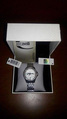 Relógio da Just Cavalli Zircônias Prata Original - Foto 2