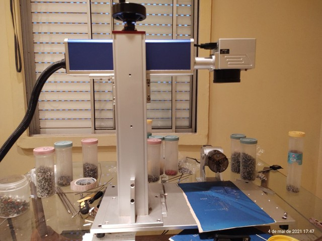 Gravadora laser 20W fibra - Foto 2