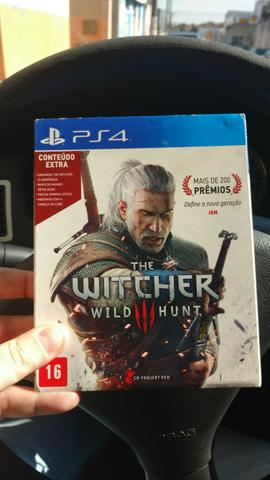 Jogo ps4 The Witcher 3