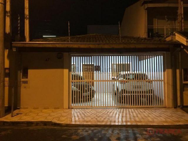 Casa à venda com 3 dormitórios em Loteamento villa branca, Jacarei cod:V3952