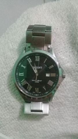 Relógio Orient Prata Novinho
