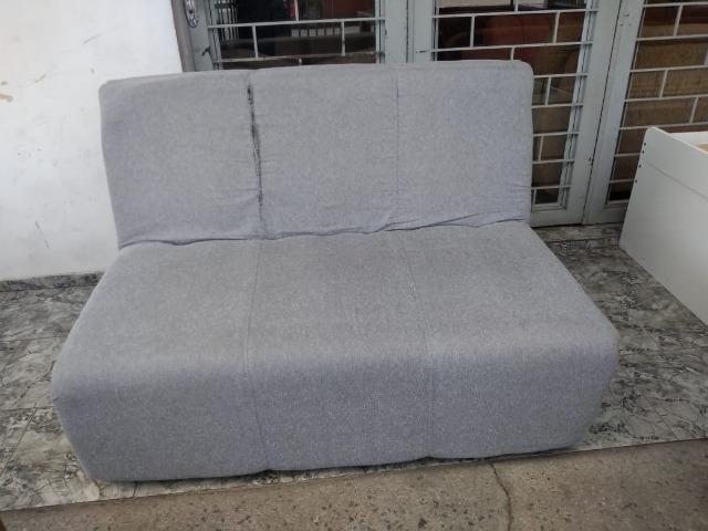 Sofá cama cinza - Entrego!