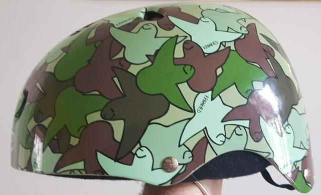 Skate capacete