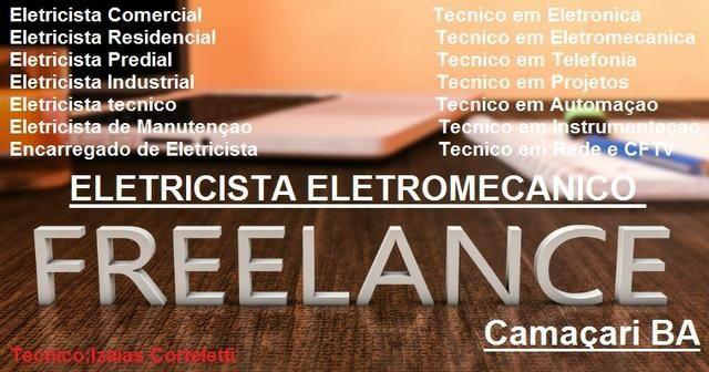 Eletricista Eletrotécnico Freelance