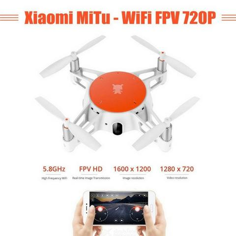 Xiaomi Mitu Mini Drone Com Câmera 720p Hd Wifi Fpv Vs Tello Defeito Wifi - Foto 6