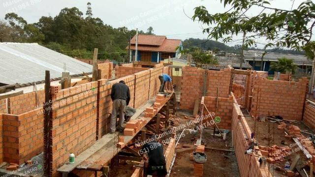 Casas 2 Dormitórios Pátio Fundos Bairro Bom Sucesso Gravataí Minha Casa Minha Vida!! - Foto 3