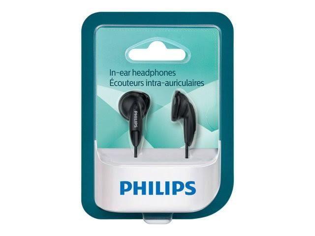 Fone de ouvido Philips In-ear She1350 Preto