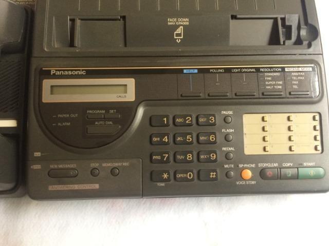 Fax Panasonic Kx-f150 Usado - Foto 3