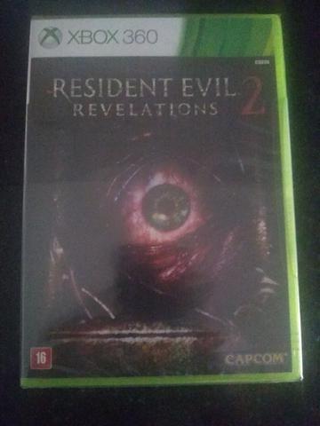 Jogo Original de Xbox 360 - Rwsident Evil Revelations