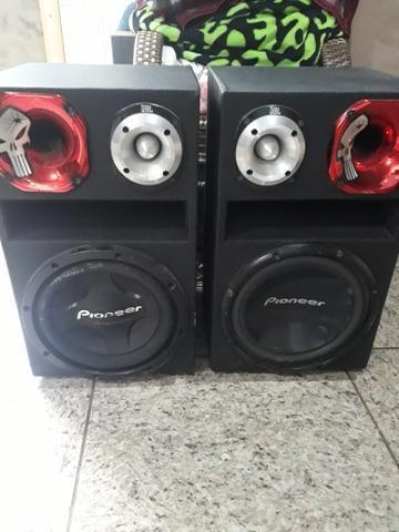 Vendo duas caixas de som passivas