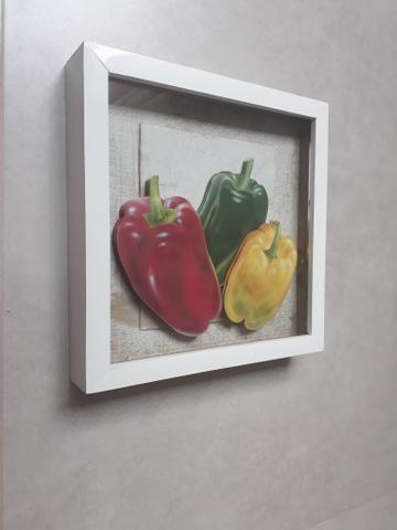 Trio de Quadros arte francesa para cozinha - Foto 6