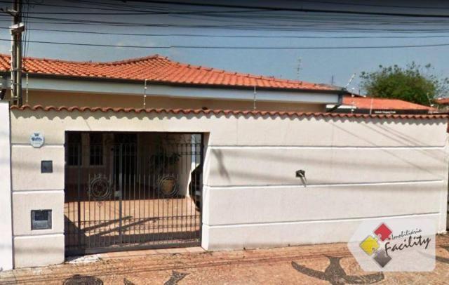 Casa com 3 dormitórios para alugar, 180 m² por r$ 3.500/mês - parque taquaral - campinas/s
