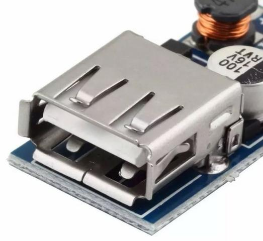 COD-AM187 Conversor Usb Dc 5v Step Up 0.9v A 5v 600ma Arduino Automação Robotica - Foto 2