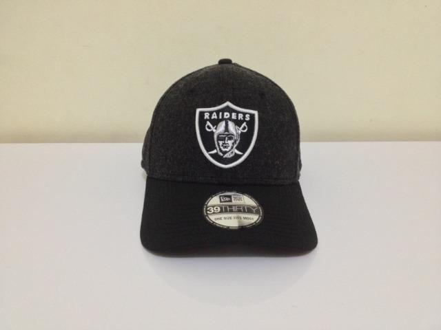 756e482934 Boné New Era Aba Curva NFL Oakland Raiders Original - Bijouterias ...