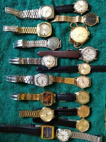 49ed0bdfa2a Relógios antigos automáticos Maquinário suíço originais ...