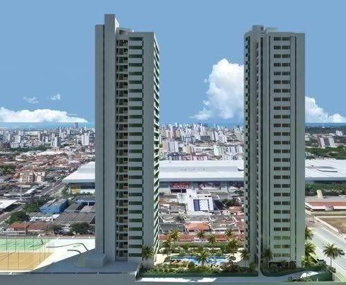 Apartamento 3/4 - Lagoa Nova - Life Moura Dubeux - 85m²
