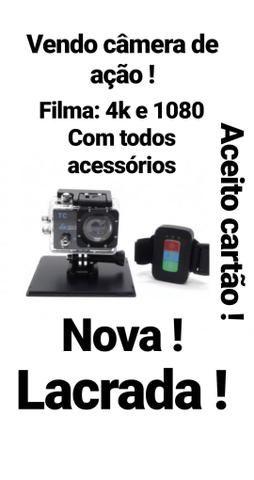 Câmera tipo GoPro hero 4 .Imagem perfeita !