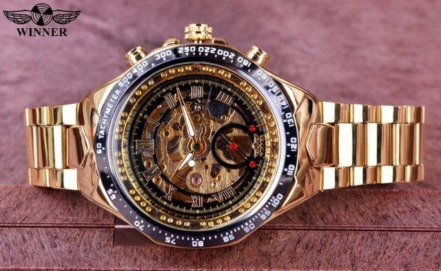 521faaaeb8d Relógio Winner. Automatico Mecânico Original - Bijouterias