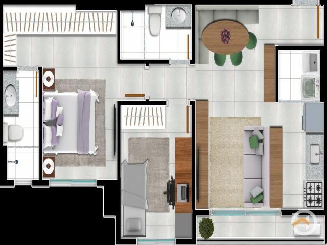 Apartamento à venda com 2 dormitórios em Setor negrão de lima, Goiânia cod:4171 - Foto 16