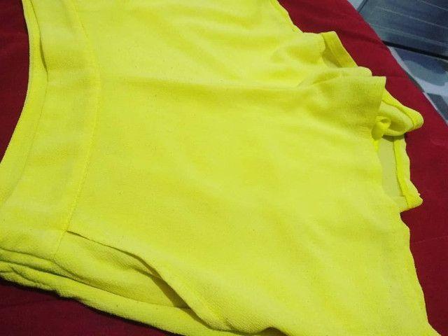 Conjunto fofo Amarelinho <br>Blusa P / Short P-M  - Foto 5