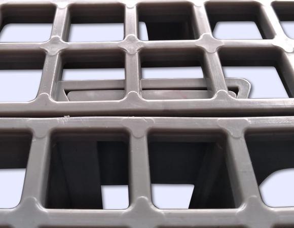 Estrado Plástico BenPlas - 50X50X4,5CM - Foto 3
