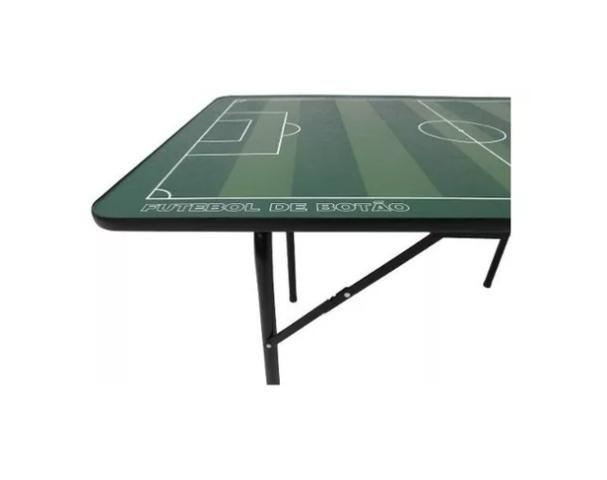 Mesa de Futebol de Botão Inf - Pés de Ferro 1027 - Klopf - Foto 3