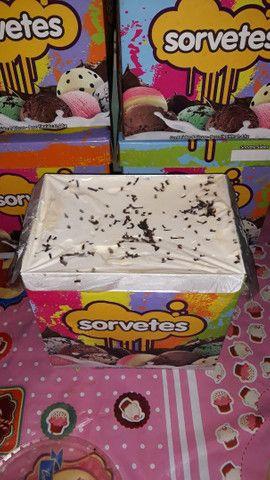 Sorvetes de Caixa - Fazemos entregas  - Foto 3