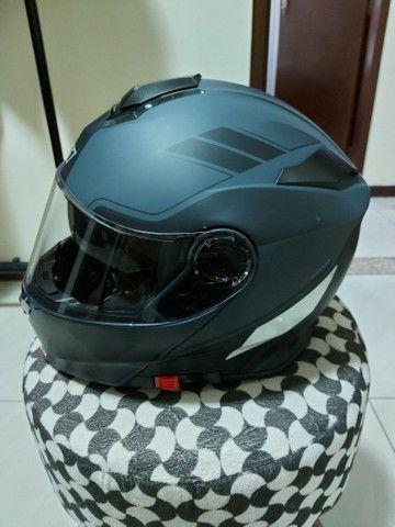 Capacete X 11 robocop com óculos interno top !!!!! - Foto 3