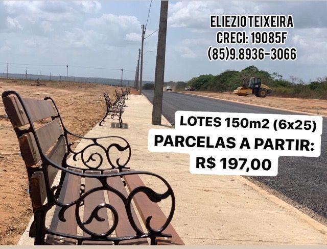 Loteamento à 10 minutos de Fortaleza com infraestrutura completo! - Foto 3