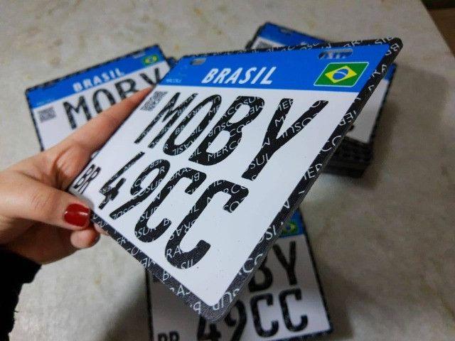 Placa Decorativa Moby 49cc - Sem alterações (Leia a descrição por favor) - Foto 5