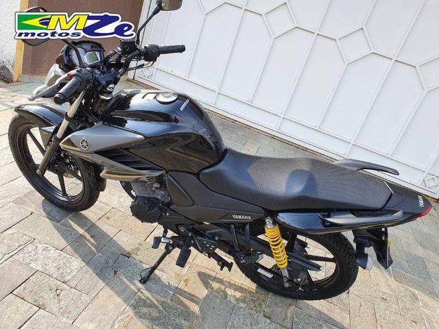 Yamaha Ys 150 Fazer Sed 2018 Preta com 39.000 km - Foto 6