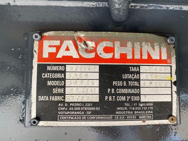 Carreta Graneleira Facchini 2009 Bonita 12.40 Muito Nova. 4 tampas - Foto 8