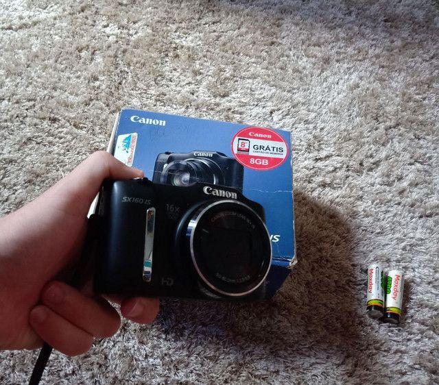 Câmera Canon sx160is Vendo ou troco  - Foto 2