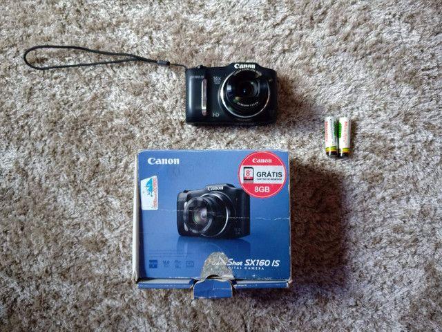 Câmera Canon sx160is Vendo ou troco