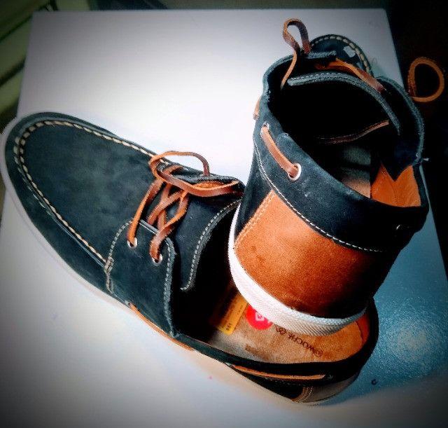 Sapato Masculino Dockside Original Woche Marinho - Foto 3