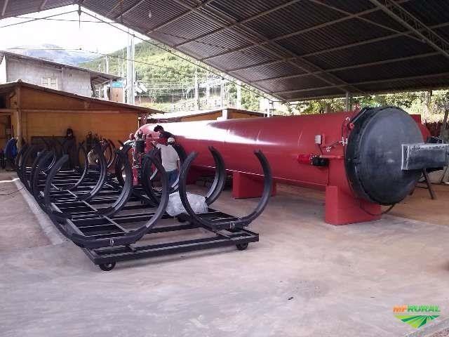 Autoclave para tratamento de madeiras - Foto 5