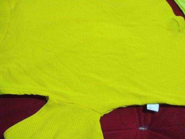 Conjunto fofo Amarelinho <br>Blusa P / Short P-M  - Foto 2