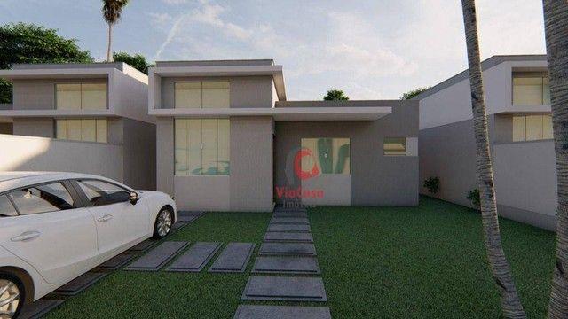 Casa Linear com 3 Quartos Sendo 1 Suíte à venda, 80 m² por R$ 280.000 - Enseada das Gaivot - Foto 4