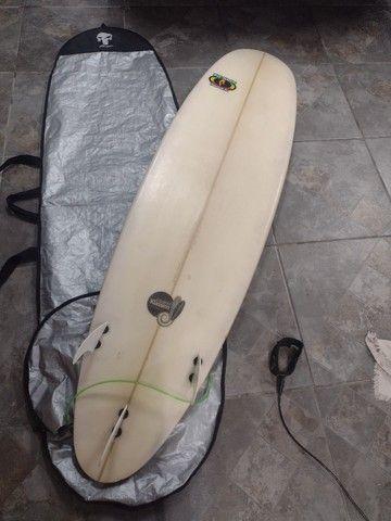 Prancha de surf 7'2 Completa! - Foto 2