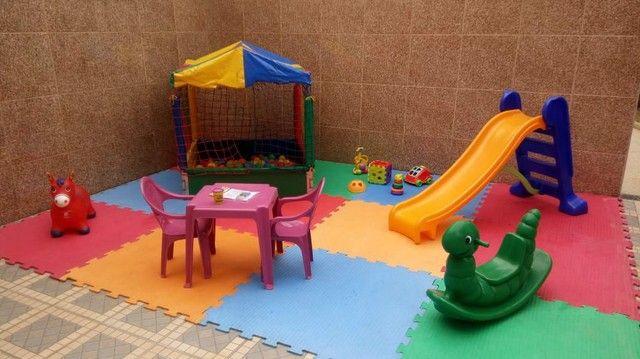 Pula Pula Piscina de Bolinhas Tobogã Castelinho Área Baby - Foto 2