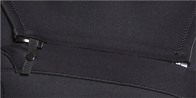 Roupa de neoprene 3mm Short John manga longa com ziper no peito (NOVA) - Foto 5