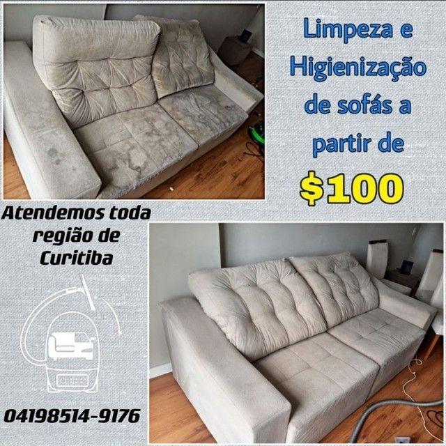 Limpeza e Higienização de Sofá Carro Carpete Colchão Cadeira Tapete