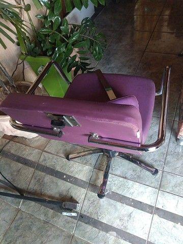 Cadeiras hidráulicas salão - Foto 3
