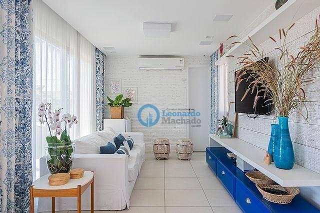 Apartamento com 4 dormitórios à venda, 176 m² por R$ 999.000 - Porto das Dunas - Aquiraz/C - Foto 12